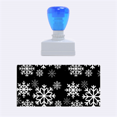 Snowflake Rubber Stamps (Medium)