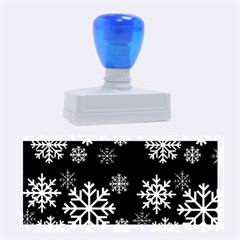 Snowflake Rubber Stamps (large)
