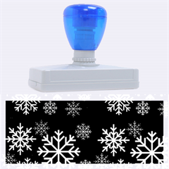 Snowflake Rubber Address Stamps (xl)