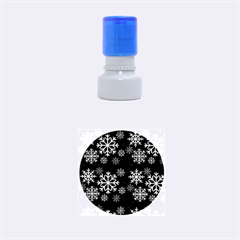 Snowflake Rubber Round Stamps (small)