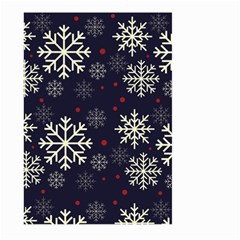 Snowflake Large Garden Flag (Two Sides)
