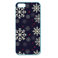 Snowflake Apple Seamless iPhone 5 Case (Color)