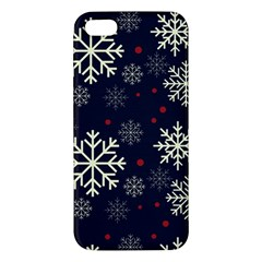Snowflake Apple iPhone 5 Premium Hardshell Case