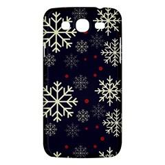 Snowflake Samsung Galaxy Mega 5.8 I9152 Hardshell Case