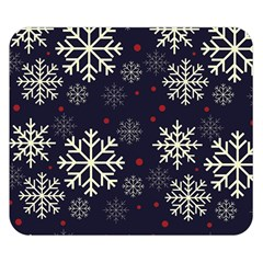 Snowflake Double Sided Flano Blanket (Small)