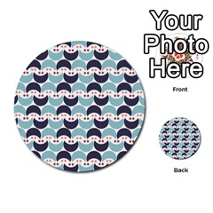 Moon Pattern Multi Purpose Cards (round)