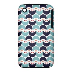 Moon Pattern Apple iPhone 3G/3GS Hardshell Case (PC+Silicone)