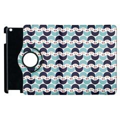Moon Pattern Apple iPad 3/4 Flip 360 Case