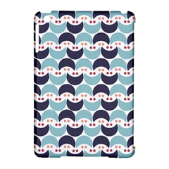 Moon Pattern Apple iPad Mini Hardshell Case (Compatible with Smart Cover)