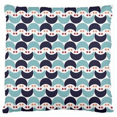 Moon Pattern Large Flano Cushion Cases (One Side)
