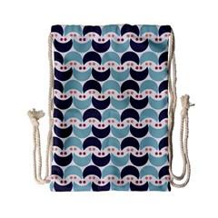 Moon Pattern Drawstring Bag (Small)