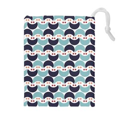 Moon Pattern Drawstring Pouches (Extra Large)