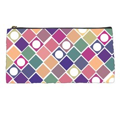 Dots And Squares Pencil Cases