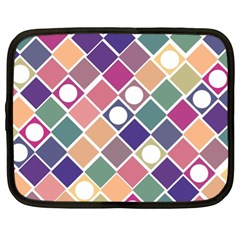 Dots and Squares Netbook Case (XL)