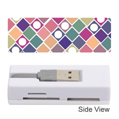 Dots and Squares Memory Card Reader (Stick)