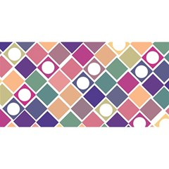 Dots and Squares YOU ARE INVITED 3D Greeting Card (8x4)