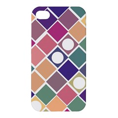 Dots and Squares Apple iPhone 4/4S Premium Hardshell Case