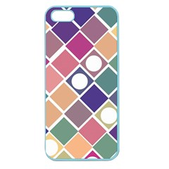 Dots and Squares Apple Seamless iPhone 5 Case (Color)