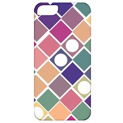 Dots and Squares Apple iPhone 5 Classic Hardshell Case