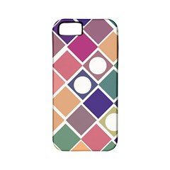 Dots and Squares Apple iPhone 5 Classic Hardshell Case (PC+Silicone)