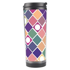 Dots and Squares Travel Tumblers