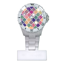 Dots and Squares Nurses Watches