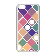 Dots and Squares Apple iPhone 5C Seamless Case (White)
