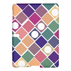 Dots and Squares Samsung Galaxy Tab S (10.5 ) Hardshell Case