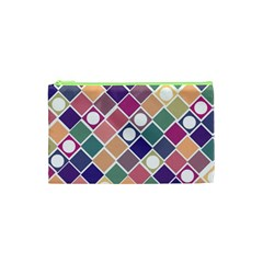 Dots and Squares Cosmetic Bag (XS)