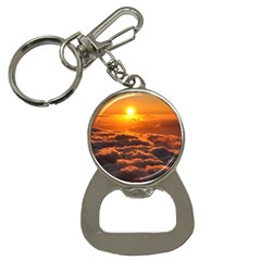 SUNSET OVER CLOUDS Bottle Opener Key Chains