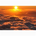 SUNSET OVER CLOUDS Collage 12  x 18  18 x12 Print - 1