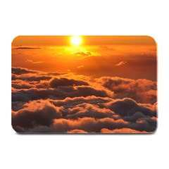 Sunset Over Clouds Plate Mats