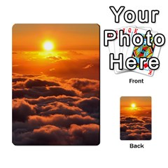 Sunset Over Clouds Multi Purpose Cards (rectangle)