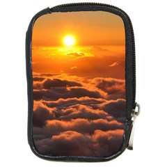 SUNSET OVER CLOUDS Compact Camera Cases