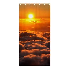 SUNSET OVER CLOUDS Shower Curtain 36  x 72  (Stall)