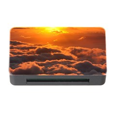 Sunset Over Clouds Memory Card Reader With Cf