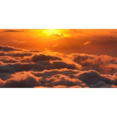SUNSET OVER CLOUDS YOU ARE INVITED 3D Greeting Card (8x4)