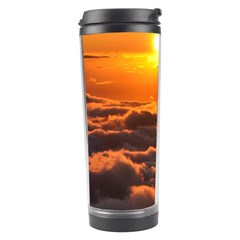 SUNSET OVER CLOUDS Travel Tumblers