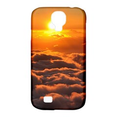 Sunset Over Clouds Samsung Galaxy S4 Classic Hardshell Case (pc+silicone)