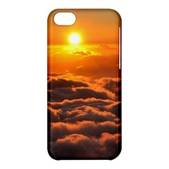 SUNSET OVER CLOUDS Apple iPhone 5C Hardshell Case