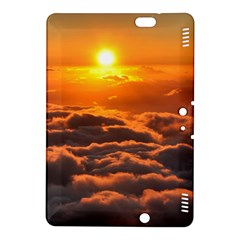 SUNSET OVER CLOUDS Kindle Fire HDX 8.9  Hardshell Case