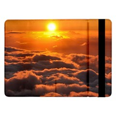 SUNSET OVER CLOUDS Samsung Galaxy Tab Pro 12.2  Flip Case