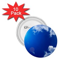 SUN SKY AND CLOUDS 1.75  Buttons (10 pack)