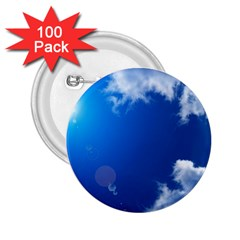 SUN SKY AND CLOUDS 2.25  Buttons (100 pack)