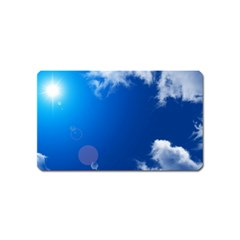 SUN SKY AND CLOUDS Magnet (Name Card)