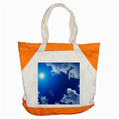 SUN SKY AND CLOUDS Accent Tote Bag