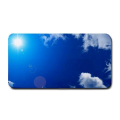 Sun Sky And Clouds Medium Bar Mats