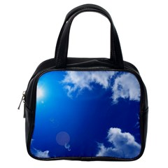 SUN SKY AND CLOUDS Classic Handbags (One Side)
