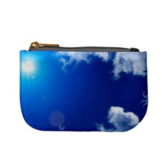 SUN SKY AND CLOUDS Mini Coin Purses