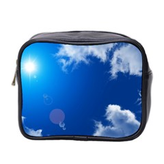 SUN SKY AND CLOUDS Mini Toiletries Bag 2-Side